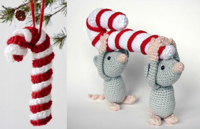 25 Crochet Christmas Ornaments [Free Patterns] | christmas ...