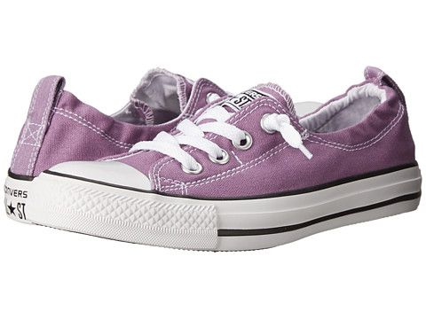 d512b72d2356 Converse Chuck Taylor® All Star® Shoreline Seasonal Color Slip Dusty  Lilac White Black - Zappos.com Free Shipping BOTH Ways