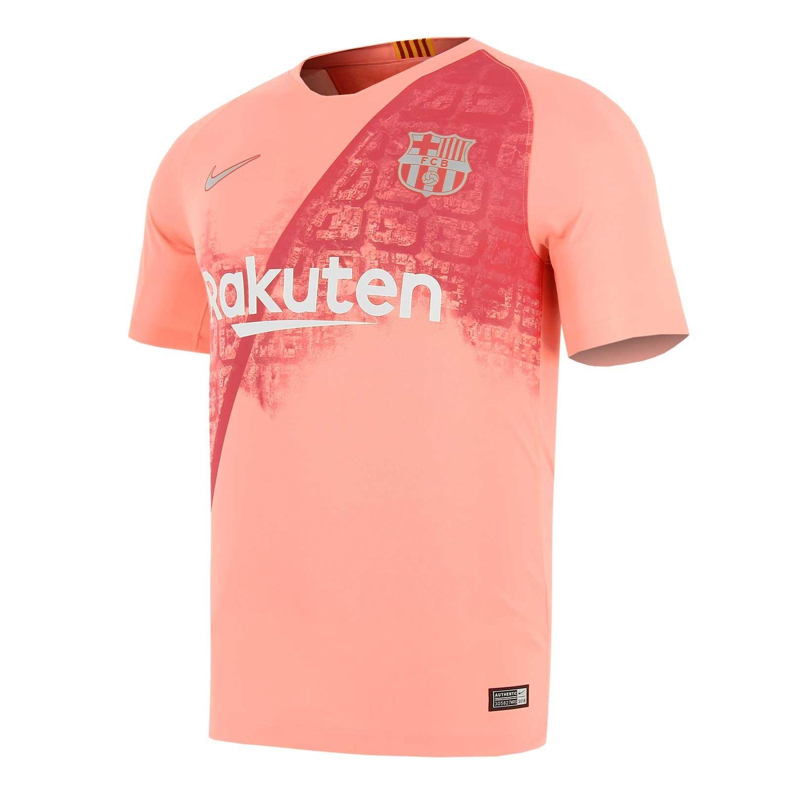 Camiseta Nike Barcelona 3a 2018 2019 Stadium  9771e890cafbf