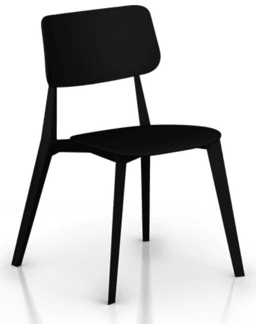 Chaise De Restaurant Design Stellar Sledge Chaise Mobilier Design Mobilier