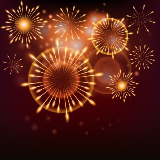 Realistic Fireworks 2019 Background Hand Drawn Fireworks Background Gorgeous Fireworks Bloom Background Fireworks Png And Vector With Transparent Background Kembang Api Latar Belakang Latar Belakang Bunga