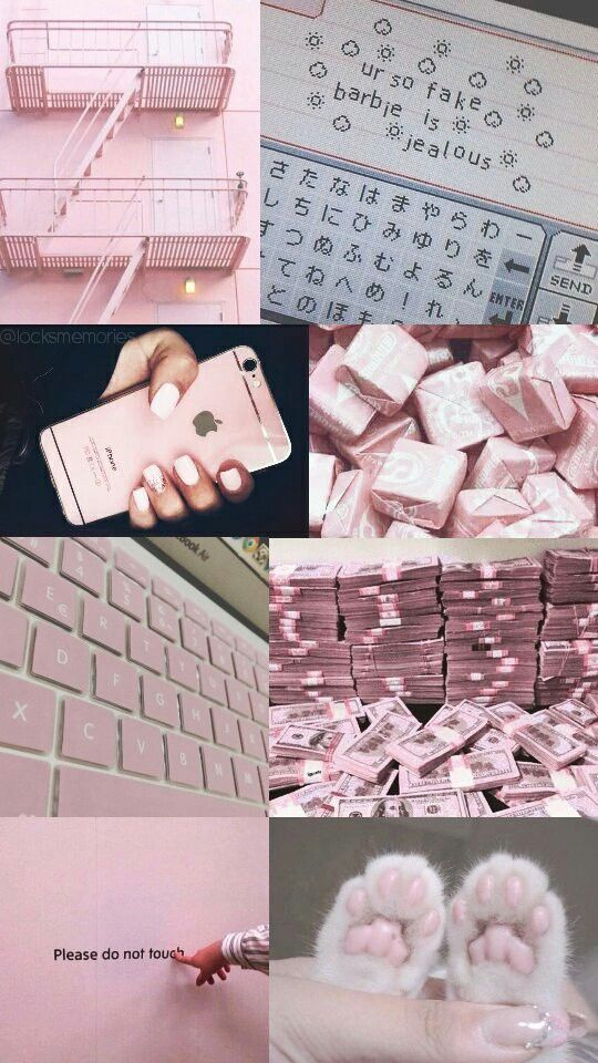 Pinterest Ary4dn4unicorn Is That Pictochat Aesthetic Iphone Wallpaper Pink Wallpaper Aesthetic Collage