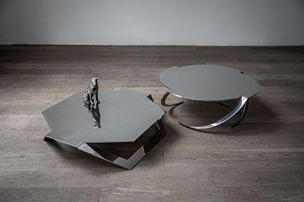 HEXAGONAL COFFEE TABLE | Hexagonal & Espiral tables by Pedro Ramírez Vázquez from Luteca | Discover more coffee tables ideas: www.bocadolobo.com #moderncoffeetables #luxurycoffeetables
