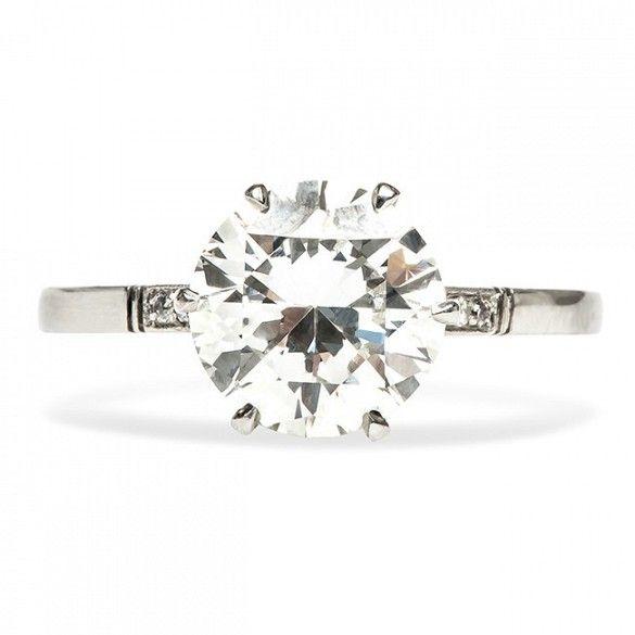 Trumpet & Horn Queens Park Diamond Ring