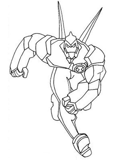 Download Painting Ben 10 For Kids Free Enjoy Day Of Fun With Many Painting Pages Br Unleash Your Kid Crea Coloring Pages Superhero Coloring Coloring Pictures