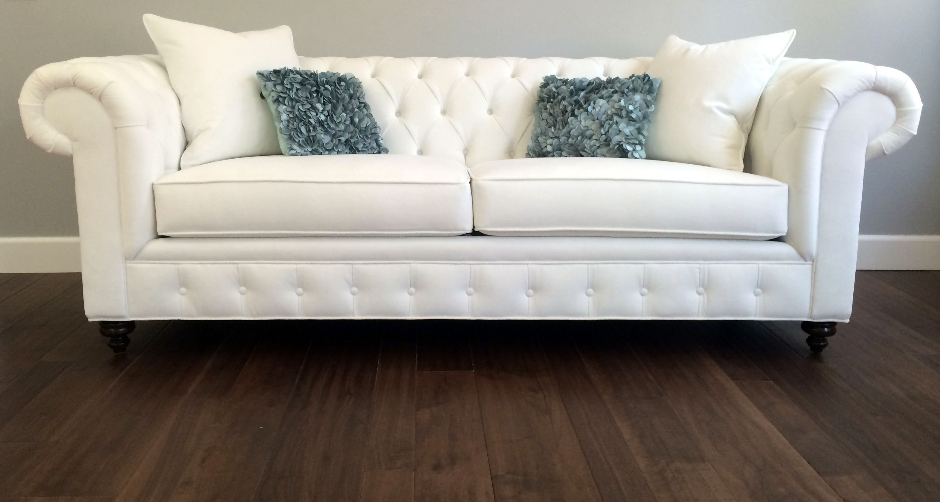 Beau Custom CHESTERFIELD Sofa Or Sectional. Leather Or Fabric. Ships Nationwide.