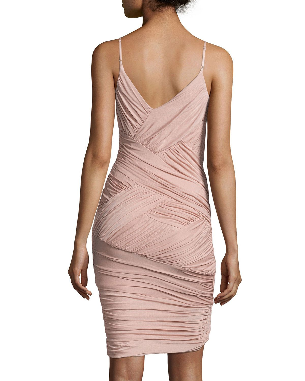 Crisscross Cocktail Dress, Dusty Pink   little black number   Pinterest