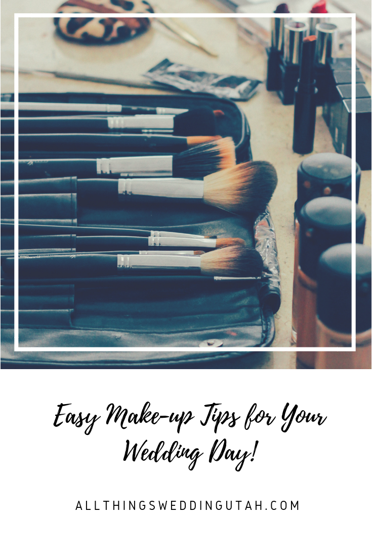 Easy Makeup Tips for Your Wedding Day! Event planning