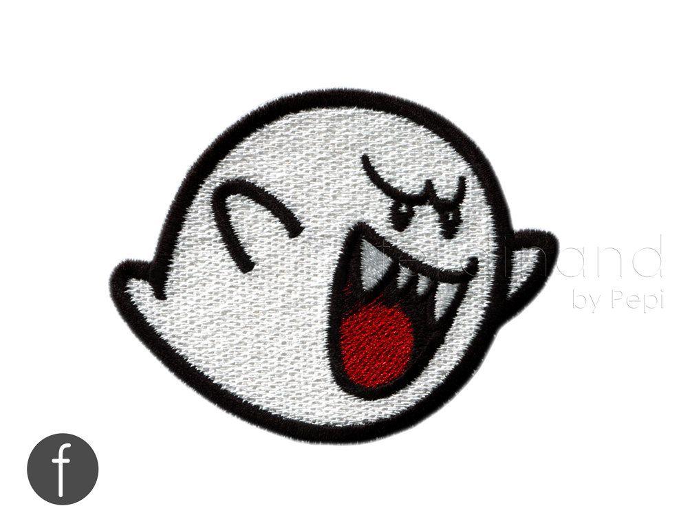 PATCHE escudo termoadhesiva Mario bross