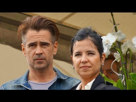 Colin Farrell & Claudine in Amsterdam bij opening Homeless World Cup 2015. - YouTube