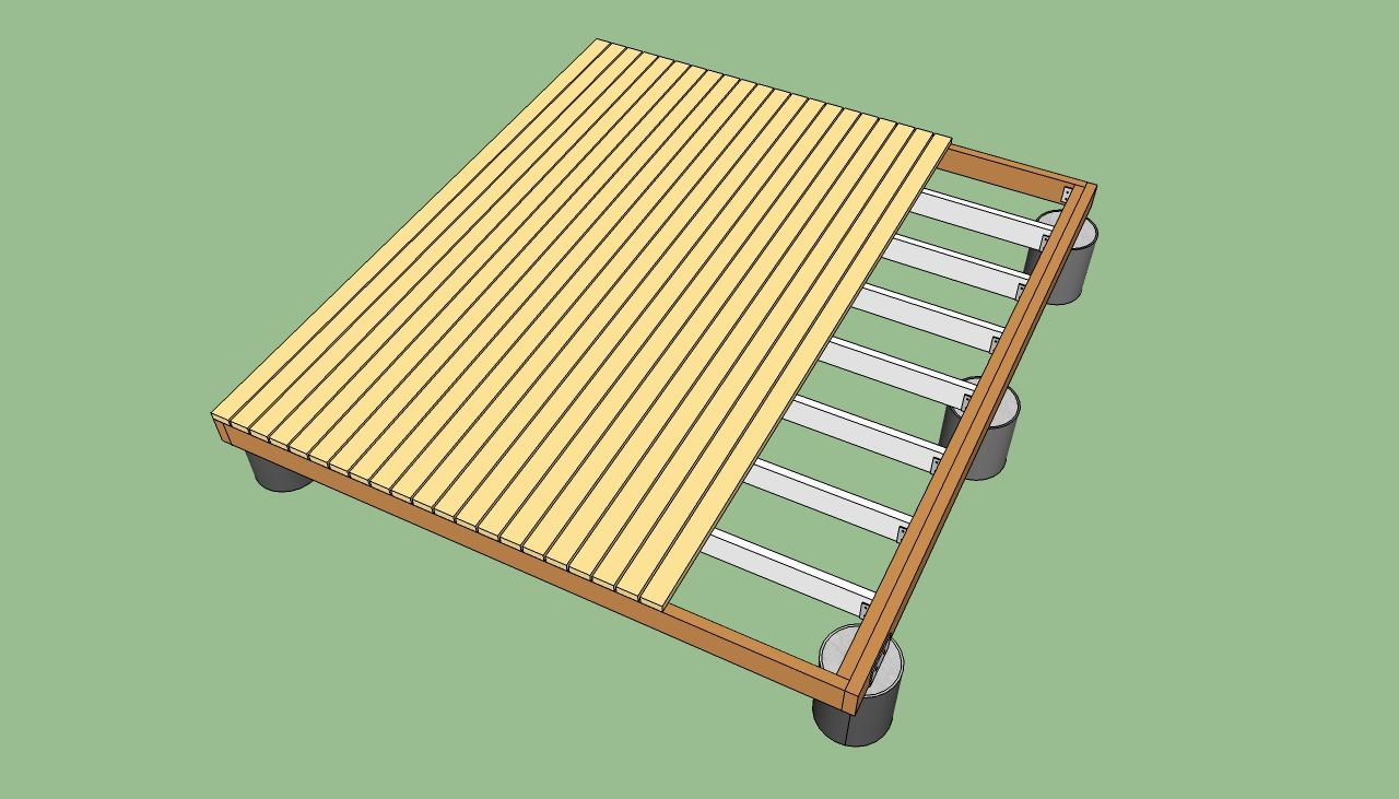 For behind the shed to put composting bins how to build a deck on for behind the shed to put composting bins how to build a deck on the baanklon Images