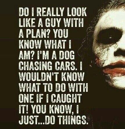 The Joker With Images Joker Quotes Joker Comic Hero Quotes