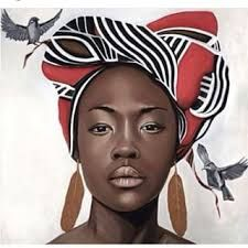 Image result for headwrap art
