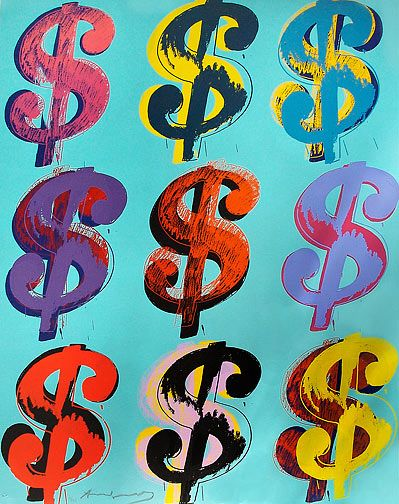 Andy Warhol Dollars Money In 2019 Pinterest Warhol Andy