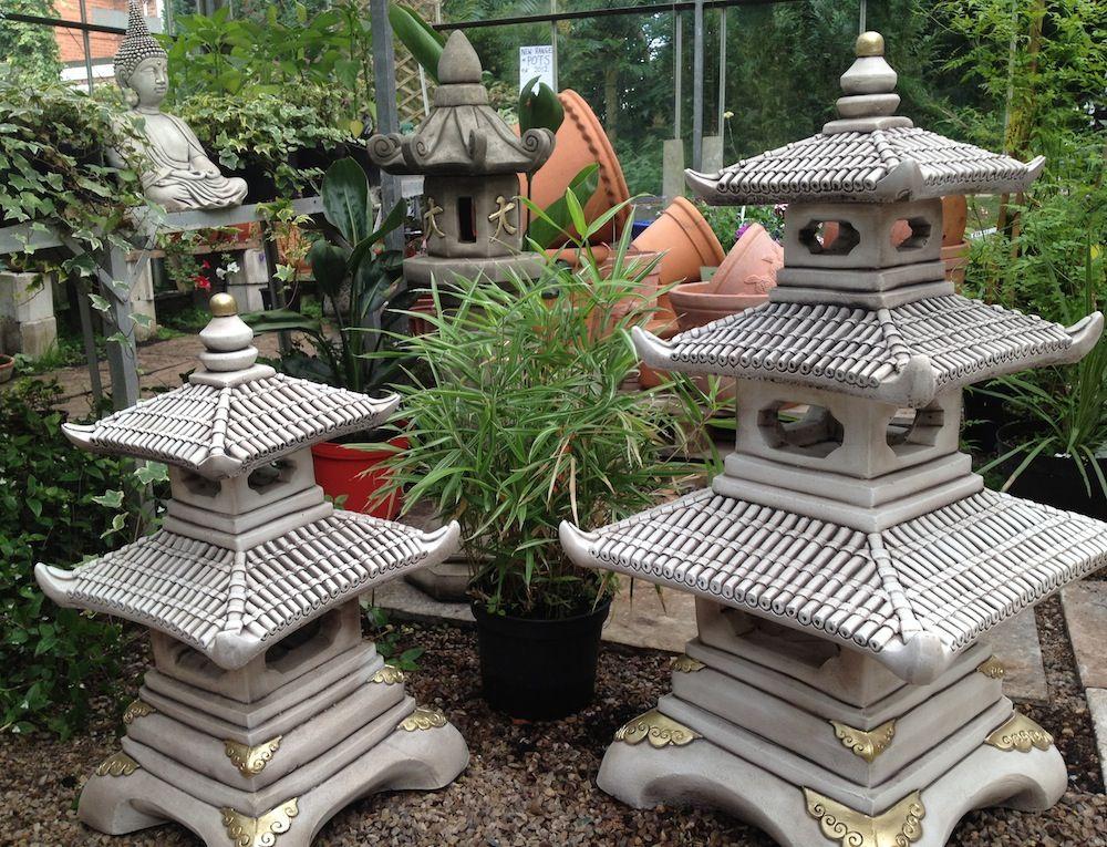 Various Forms Of Concrete Garden Ornaments | Margarite Gardens