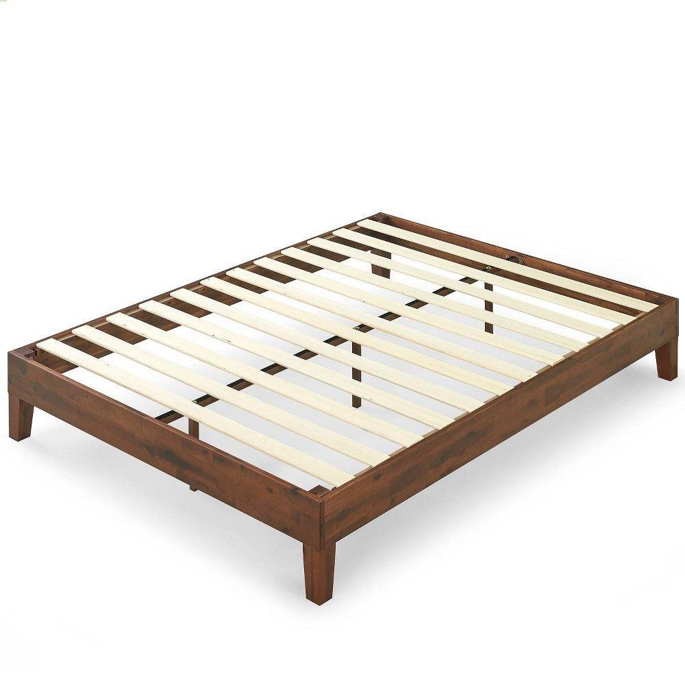 Twin Wen Wood Platform Bed Frame Black Zinus Platform Bed