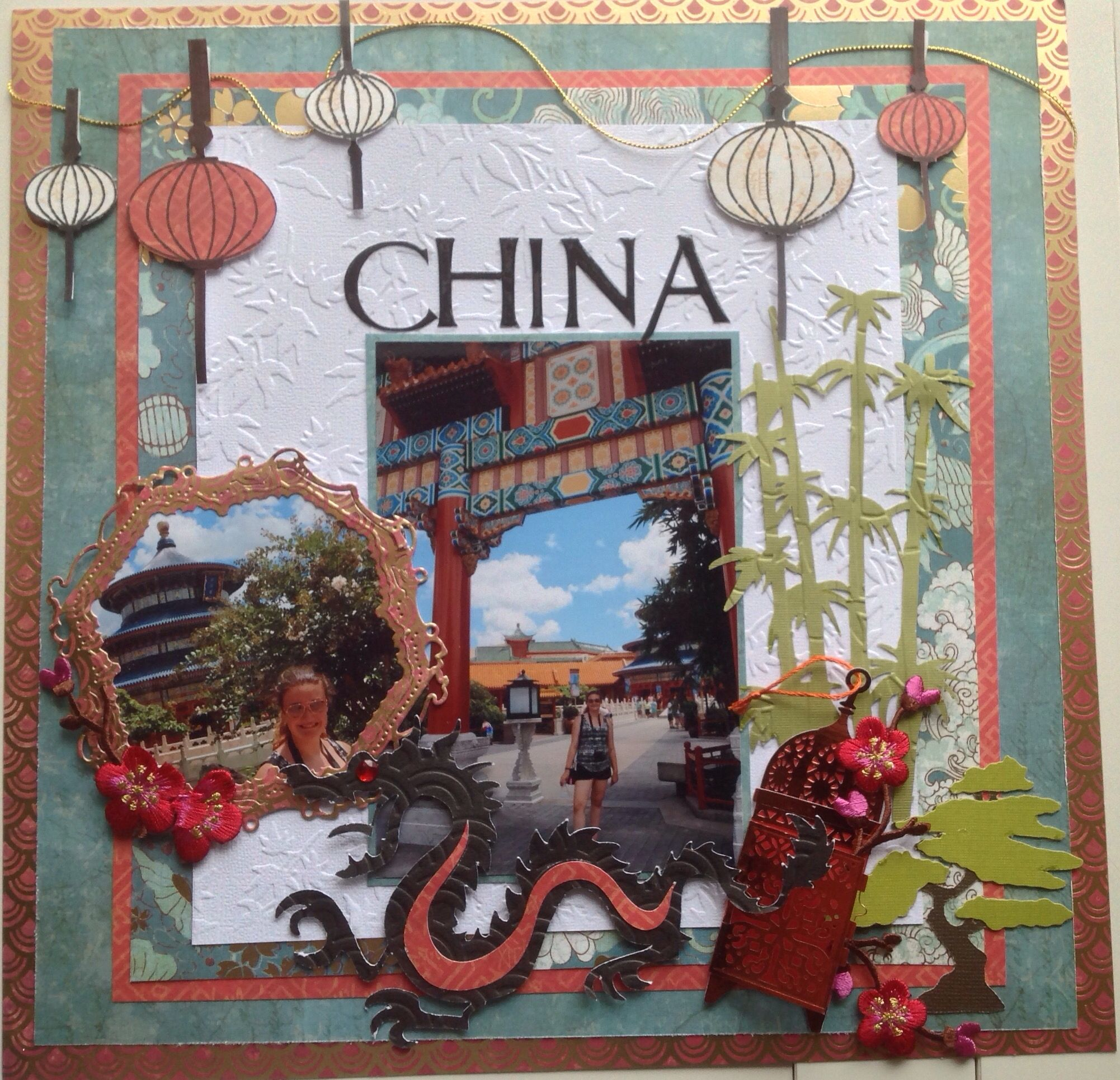 Scrapbook ideas china - Disney Related Scrapbooking Layouts And Projects For Those Disneyland And Disneyworld Trips Disney Movies Parties And So Much More Featuring Mickey Minnie