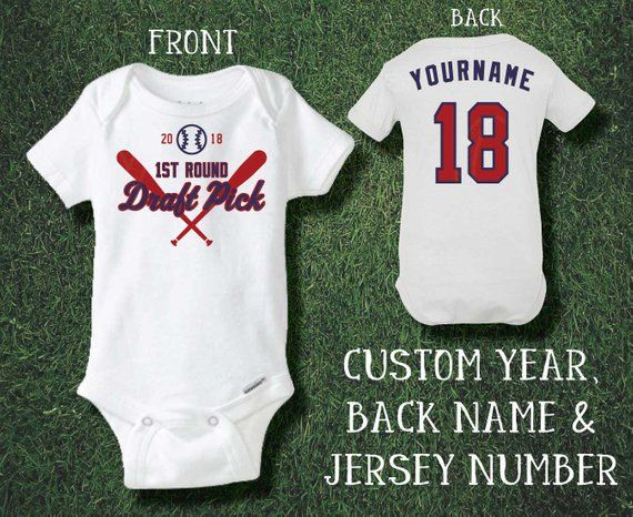 099158c8c Welcome you or your loved ones newborn to the team with our St Louis  Cardinals Personalized Baseball Jersey Onesie ®. Perfect gift for baby  showers or birth ...