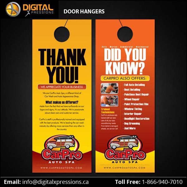 Door Hanger Is Exceptional In The World Of Marketing It S Affordable And Delivers The Right To Your Customers D In 2020 Door Hanger Printing Custom Door Door Hangers