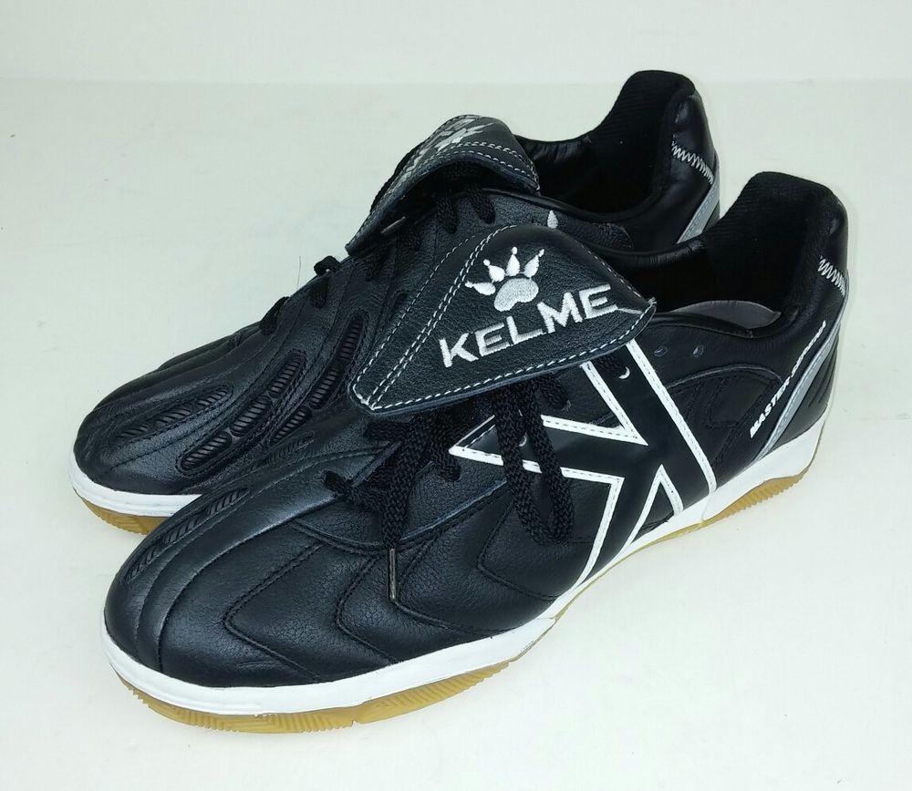 Kelme mens size 7 cleats shoes master serena black white