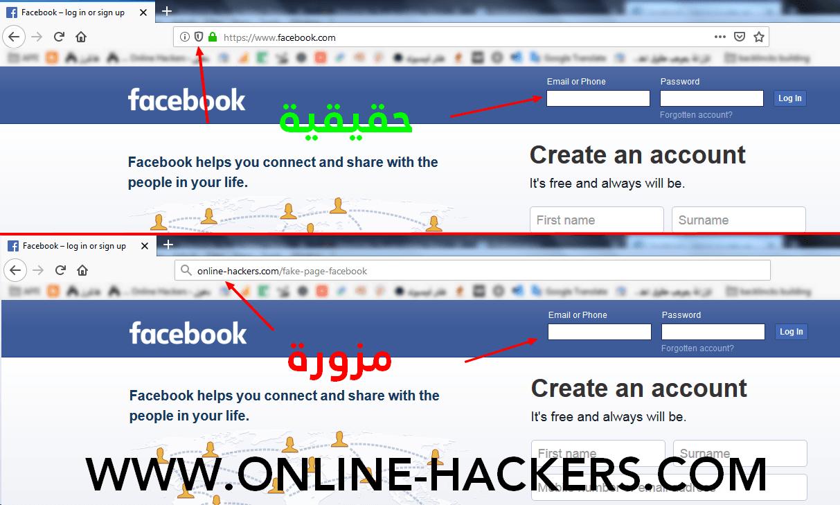 صفحات فيسبوك مزورة Facebook Help Account Facebook Life