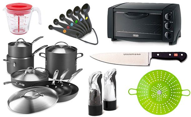 Your First Kitchen All The Equipment And Tools You Need To Get
