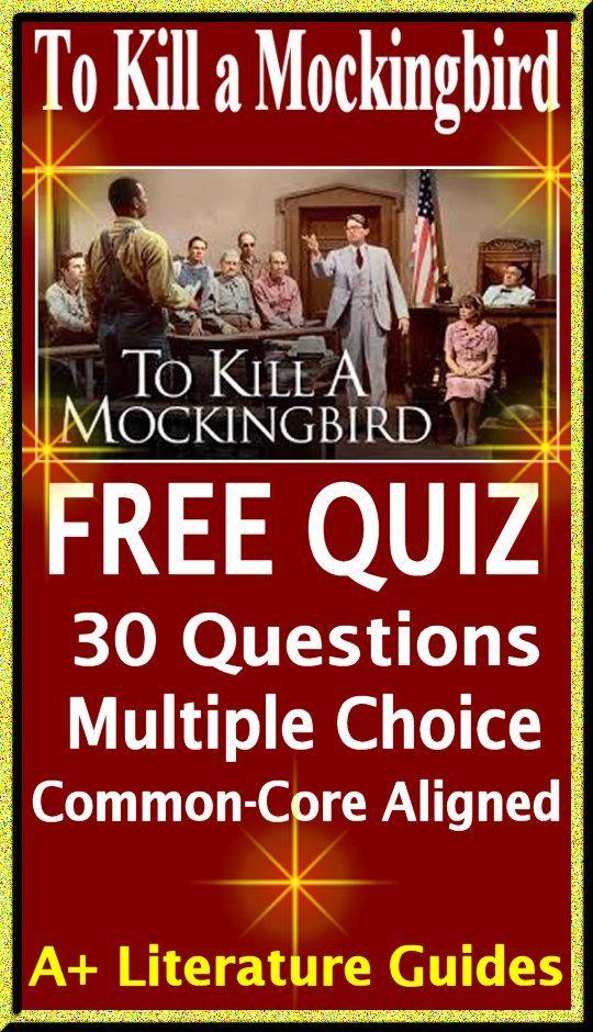 to kill a mockingbird free