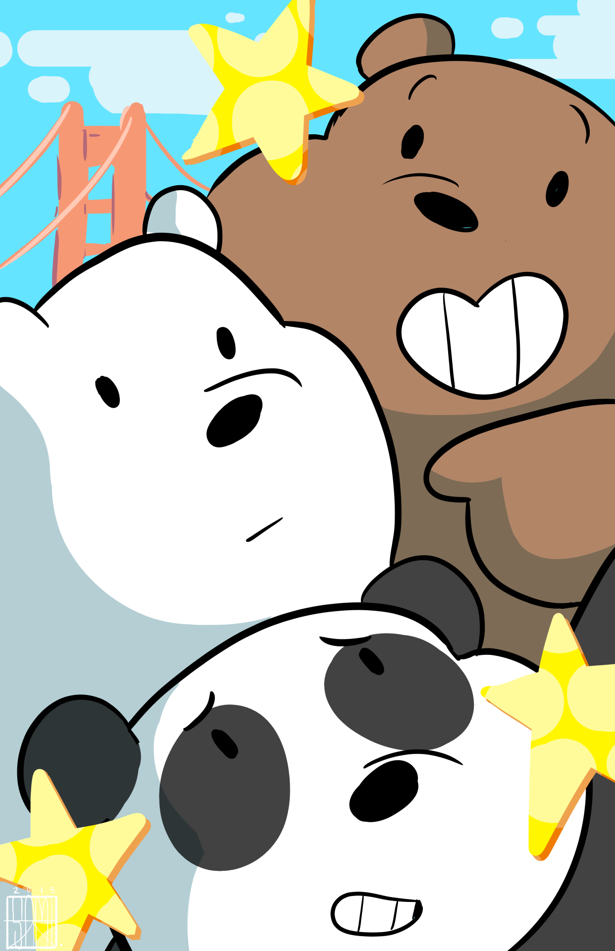 855f802b541f We Bare Bears - Grizzly