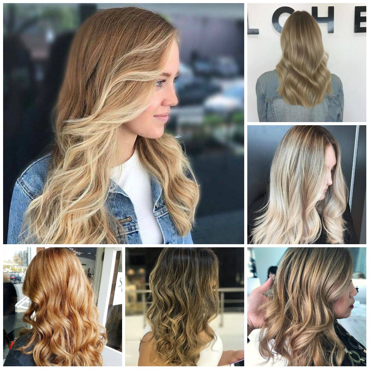Shades Of Blonde Hair Color To Rock In 2018 Haircolor Pinterest