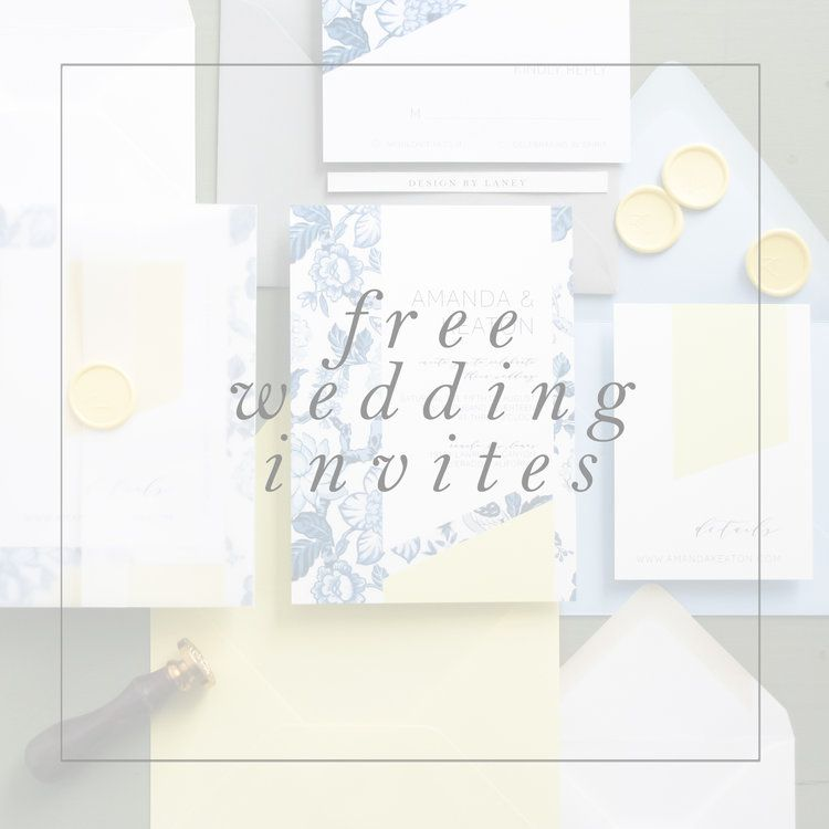Wedding Invitation Giveaway: Free Wedding Invitation Giveaway The Entire Month Of