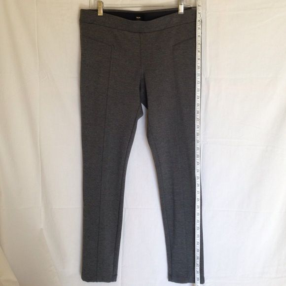 Grey leggings Grey leggings size L by Massimo. Piping detail along front of leg. No tags, never washed or worn. Massimo Pants Leggings