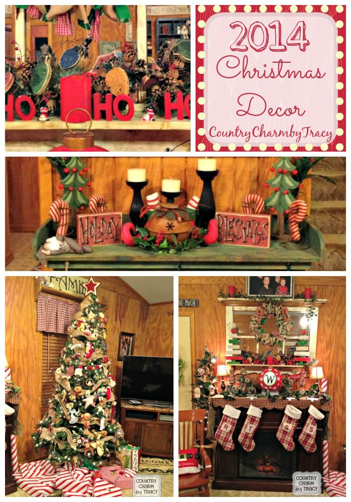 Primitive Country Christmas Home Decorations Primitive Country - country christmas decorations
