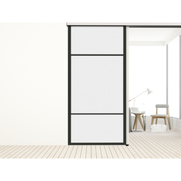 Porte Coulissante Separative Tisalia Collection Contemporain Chic Modele Espace Porte Coulissante Portes Parement Mural