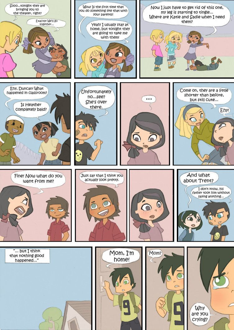 Total Drama Kids Comic Pag 27 By Kikaigaku On Deviantart