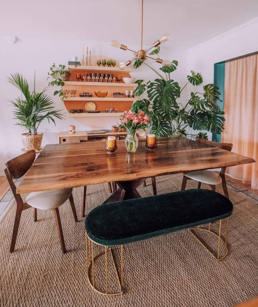10 Boho Bungalow Instagram Accounts You Will Want To Follow Boho Dining Room Interior Design Dining Room Dining Room Contemporary