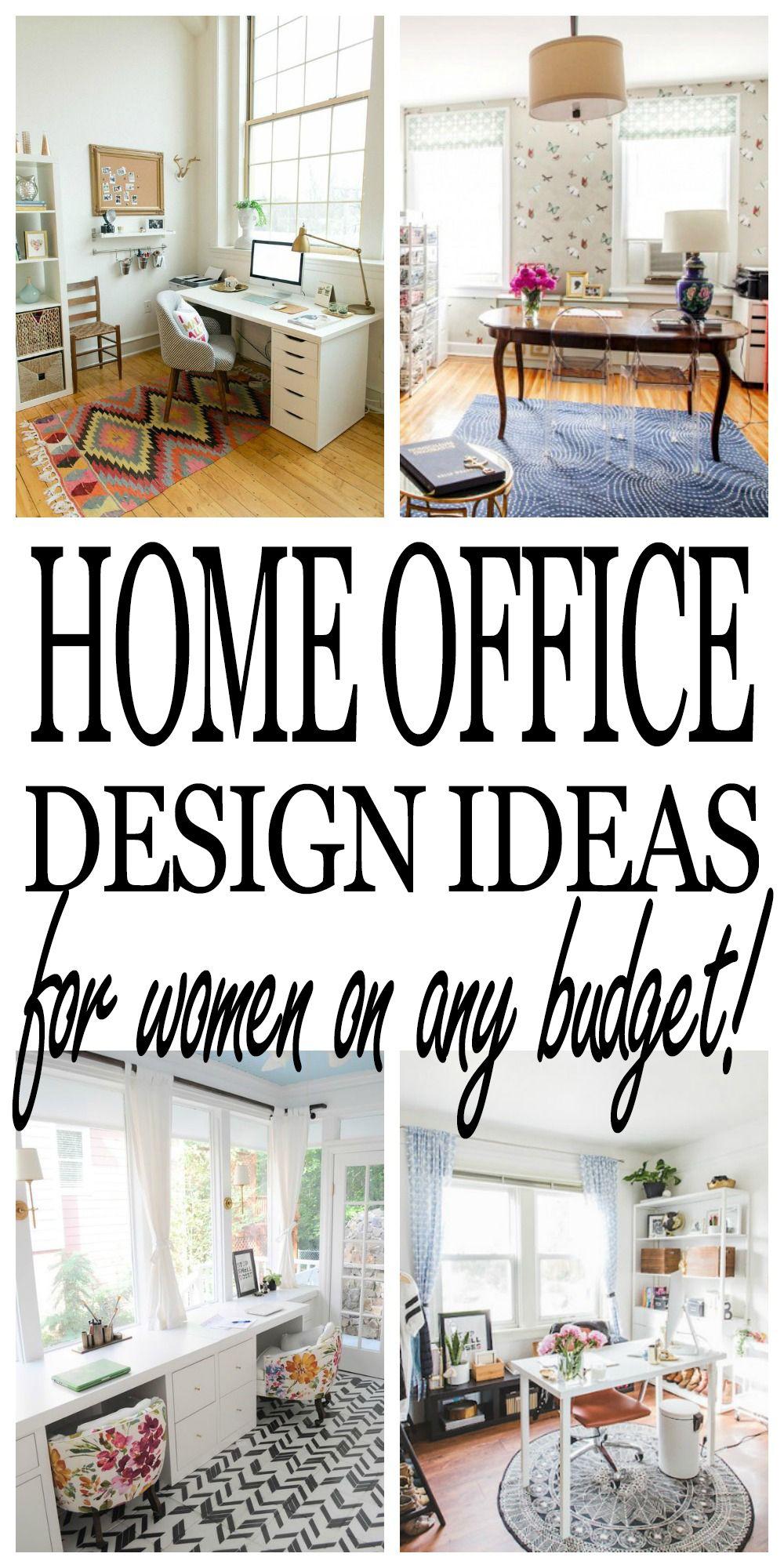 Inspiring Ideas for a Girl Boss\'s Desk and Home Office | Desks ...