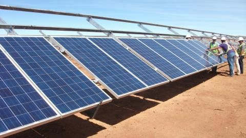 The newly constructed 55MW solar power project in Tanzania has been