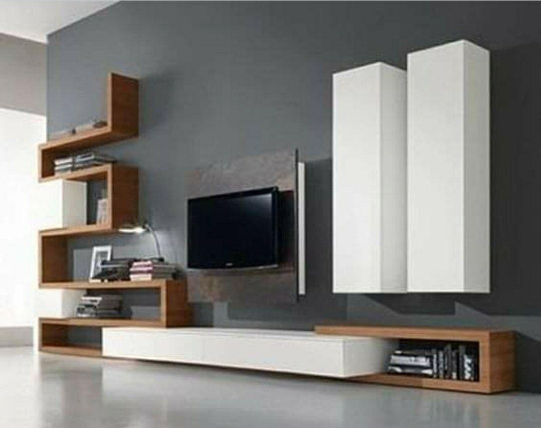 Epingle Par Nicolas Fernandez Sur Muebles En 2020 Deco Meuble Tele Salon Contemporain Amenagement Interieur Maison