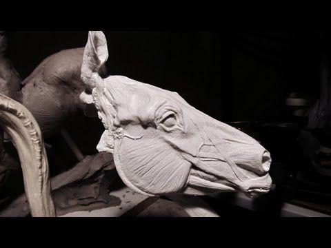 Sculpting With Lemon Western Art Rodeo Associations Horse