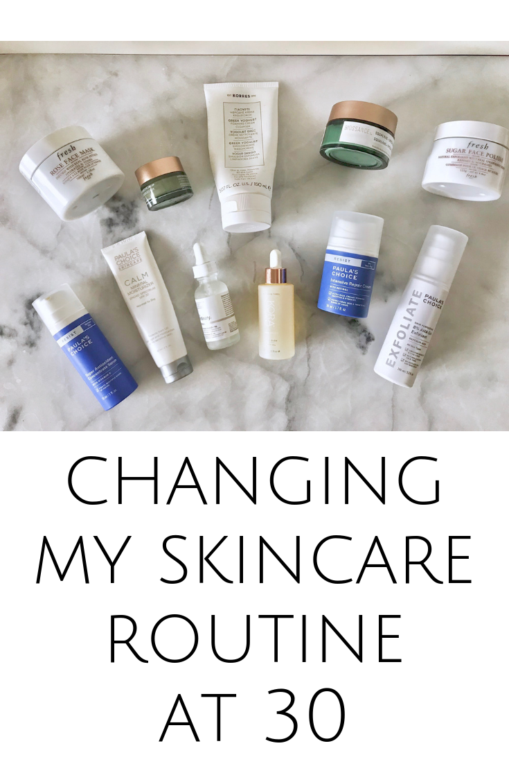 Changing My Skincare Routine At 30 My Petite Joys Skin Care Routine Skin Care Cream Cleanser