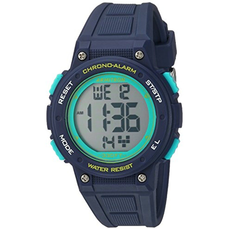 Armitron Sport Women's 45/7086NVY Digital Chronograph Navy