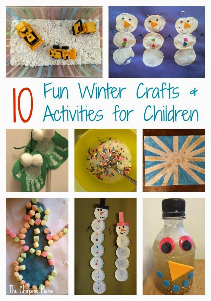 Survive The Snow Day Super Fun Easy Winter Crafts Activities