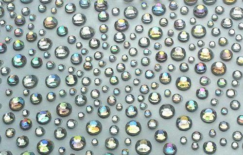 BUDILA® 325 Strasssteine selbstklebend kristall irisierend 2-5mmØ
