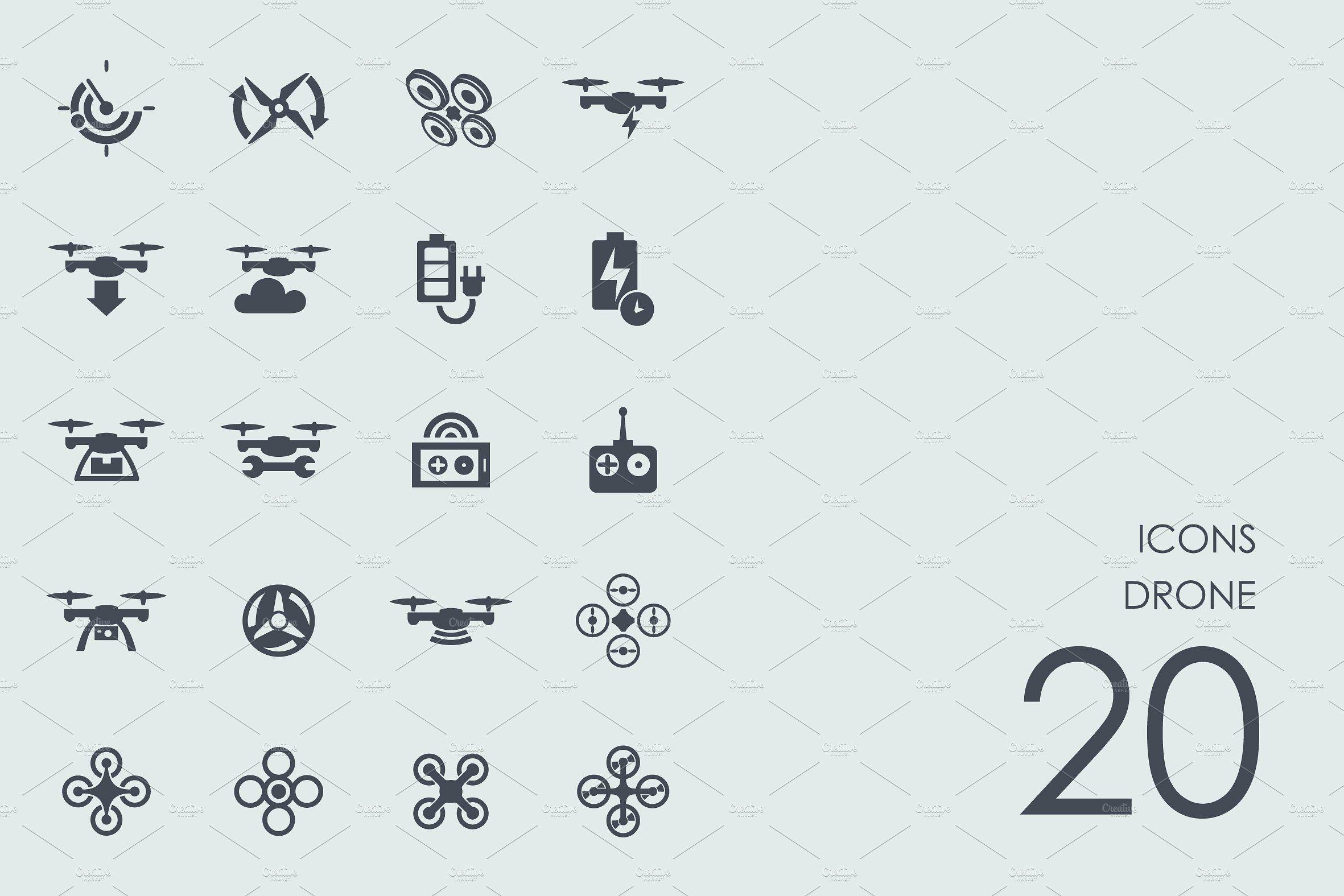 Drone Icons Drone Drone Logo Icon