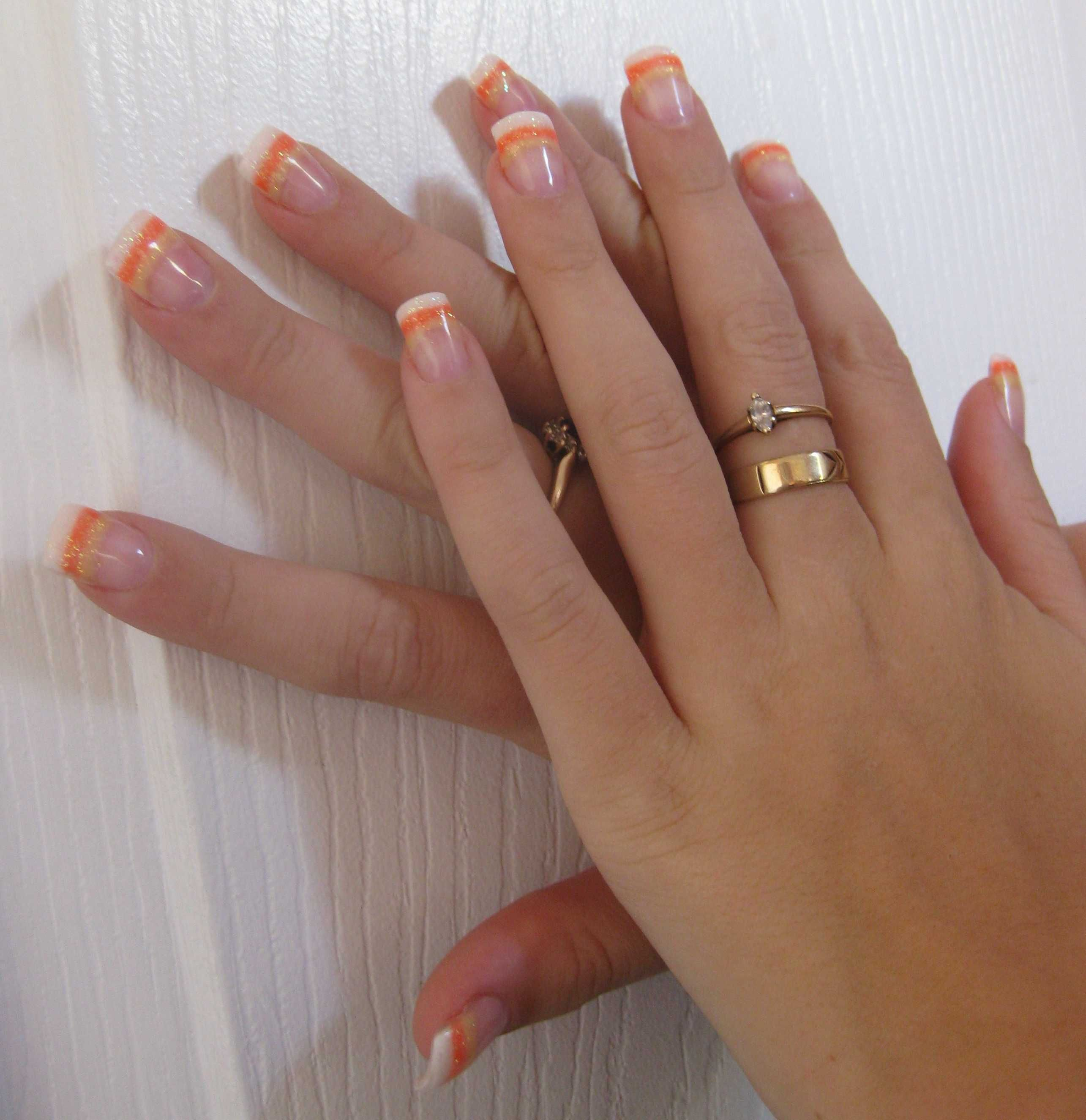 I want candycorn mani :) | Candy corn nails, Baby nails ...