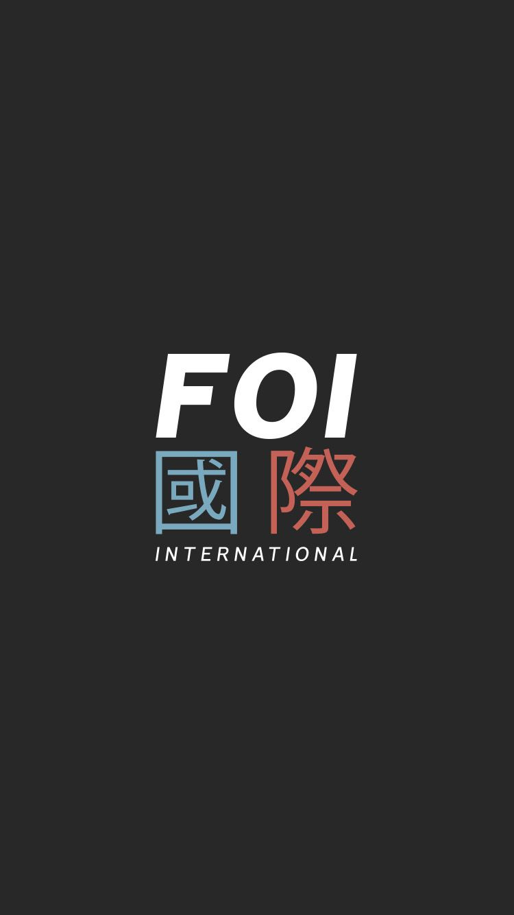 Foi International Logo Mobile Wallpaper Uk Street Wear