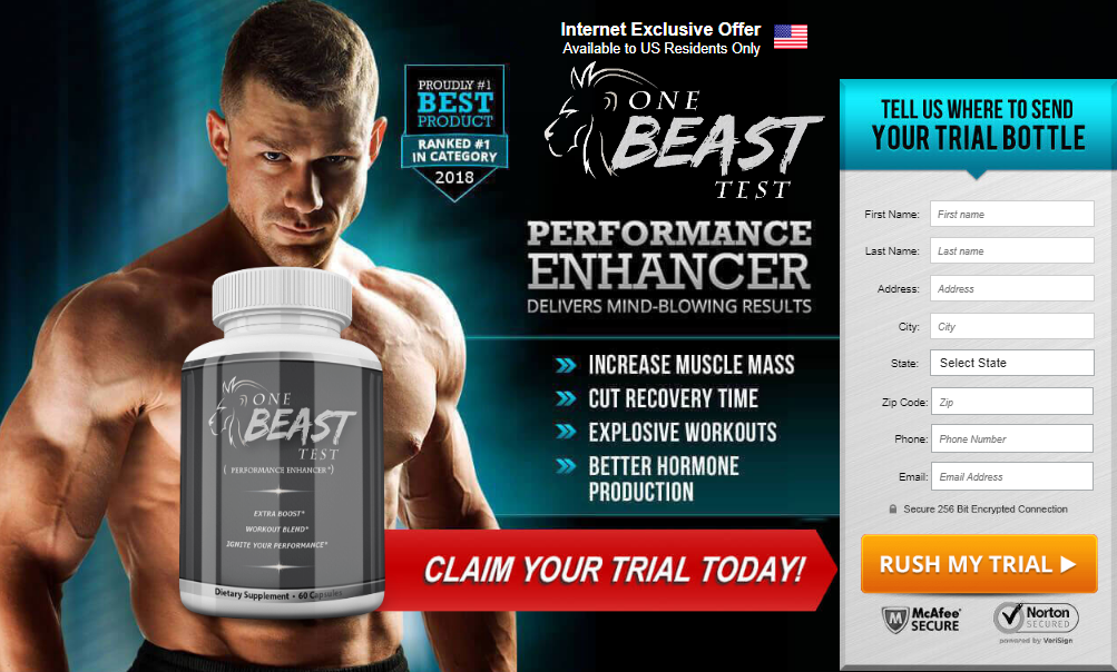 One Beast Testo Review Pills Price Benefits Ingredients Side
