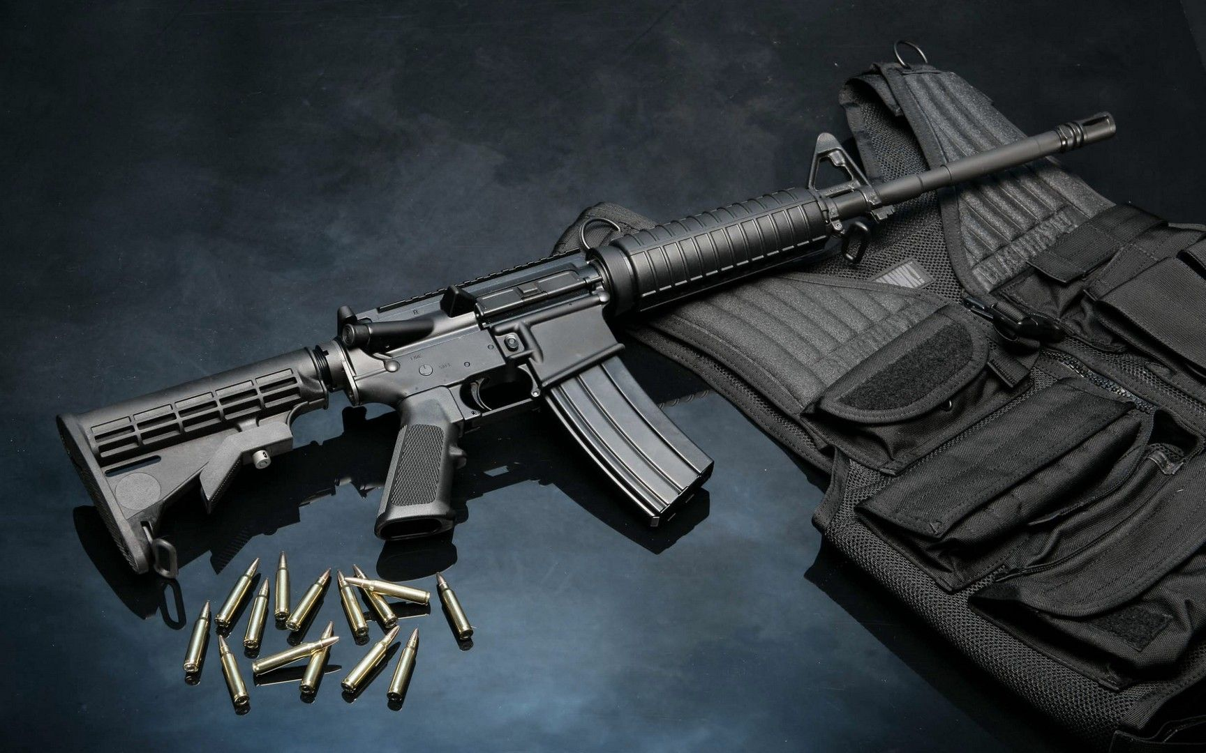 m16 gun wallpaper desktop - photo #14