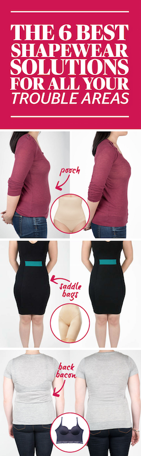 beb7e6b42b803 The 6 Best Shapewear Solutions For All Your Trouble Areas- The next time  you re complaining to a friend about muffin top