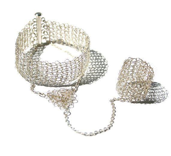 Wire Crochet Jewelry Tutorial, Learn How VIDEO and PDF Instructions ...